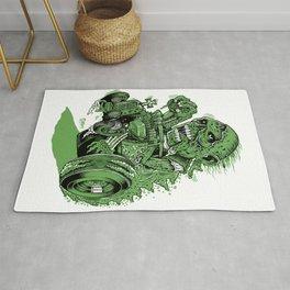Green Hell Rug