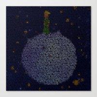 le petit prince Canvas Prints featuring LE PETIT PRINCE by Robotic Ewe
