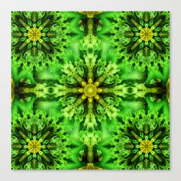 Spring Time Mandala Canvas Print