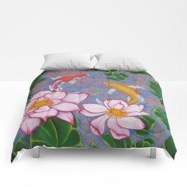 Koi Pond Comforters