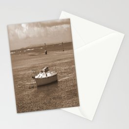 Rustic Boat Stationery Cards