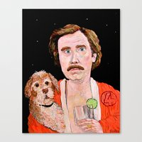 "classy Canvas Prints featuring ""Stay Classy"" by Jordan Soliz"