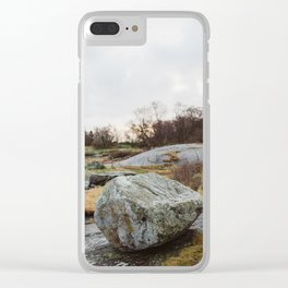 Winter landscape south of Norway Clear iPhone Case