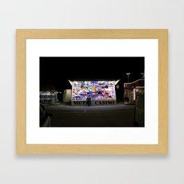Metal Casino Framed Art Print