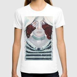 Steampunk Little Red Riding Hood T-shirt