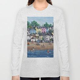Saundersfoot, Pembrokeshire Long Sleeve T-shirt