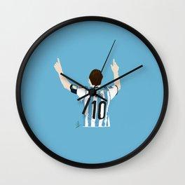 Leo Messi - Argentina Wall Clock