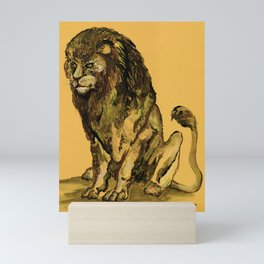 Lions / Animal Art / Sovereignty by Peter Melonas Mini Art Print