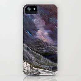 Northern Mountain iPhone Case