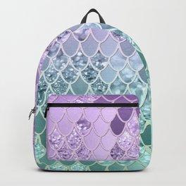 Mermaid Glitter Scales #1 #shiny #decor #art #society6 Backpack
