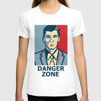 archer T-shirts featuring Archer by Mental Activity