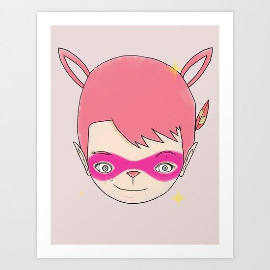 HELLO - EP001 PHANTOM THIEF [괴도] 怪盜 Art Print
