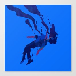 Collapsing Canvas Print
