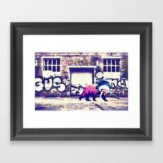 Bear Wall-king Framed Art Print
