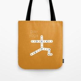 Play Yoga Tote Bag