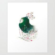 Triade No.2 Art Print