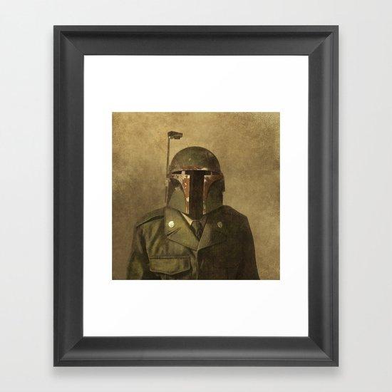 General Fettson  - square format Framed Art Print