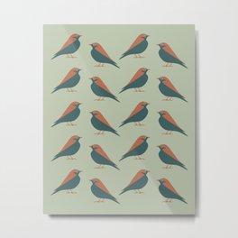 Mountain Bluebird (Spirit) Metal Print