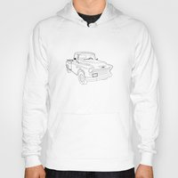 truck Hoodies featuring 1955 Truck by Yellow Chair Design