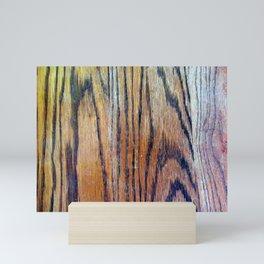 Worn Oak Mini Art Print
