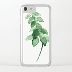 Plant 3 Clear iPhone Case
