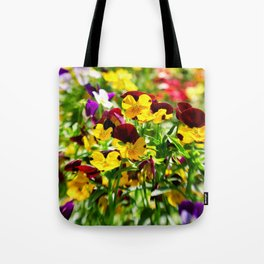 Summer Vibrance Tote Bag