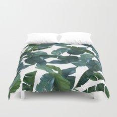 Banana Leaf Decor #society6 #decor #buyart Duvet Cover