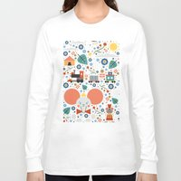 dumbo Long Sleeve T-shirts featuring Dumbo by Carly Watts