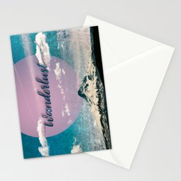 Wanderlust Mountain Stationery Cards