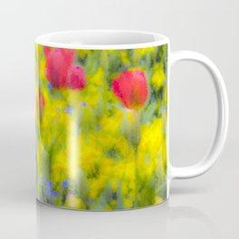 Pastel Summer Flowers  Coffee Mug