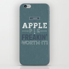 Dean Winchester Quote iPhone Skin