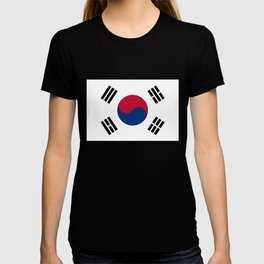 National flag of South Korea, officially the Republic of Korea, Authentic version - color and scale T-shirt