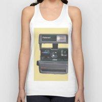 polaroid Tank Tops featuring Polaroid  by Dora Birgis