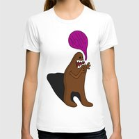bigfoot T-shirts featuring Sandy Bigfoot by Chelsea Herrick