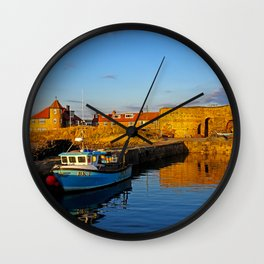 Beadnell Harbour Wall Clock