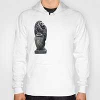 lou reed Hoodies featuring Lou Reed Lion by Jack O'Dowd