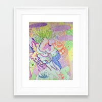random Framed Art Prints featuring Random by Jonathan Seymour