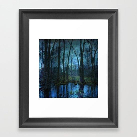 Woodland Twilight Framed Art Print