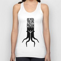 pagan Tank Tops featuring Any metal you like as long as it's Pagan. by Sparganum