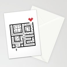 The Path of Love Stationery Cards