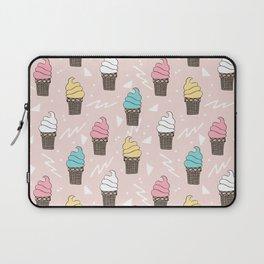 Ice cream dole whip rad geometric dessert treats pattern by andrea lauren Laptop Sleeve