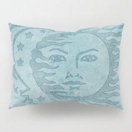 Sun Moon And Stars Batik Pillow Sham