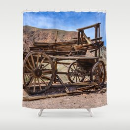 Calico Ghost Town - 7062, California Shower Curtain