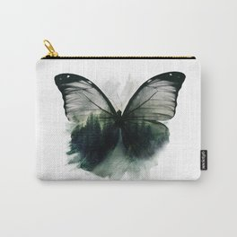 Double Butterfly Carry-All Pouch