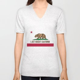 I just Bought California Unisex V-Neck