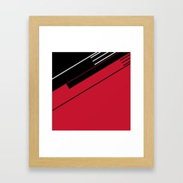 Man Machine Framed Art Print