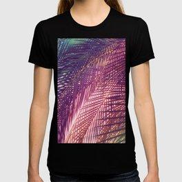 Indian Summer Boho Palm Leaves T-shirt