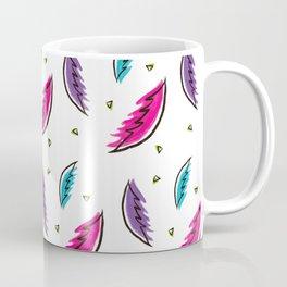 Boho Feathers Pattern Coffee Mug