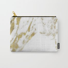 Gold vein marble Carry-All Pouch