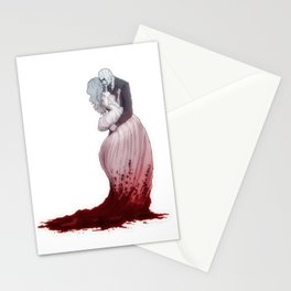 Love suicide Stationery Cards